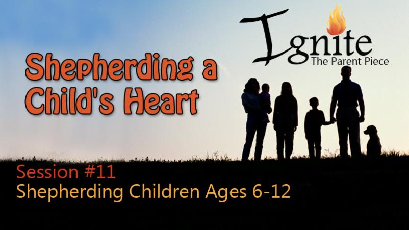 Shepherding Children Ages 6-12