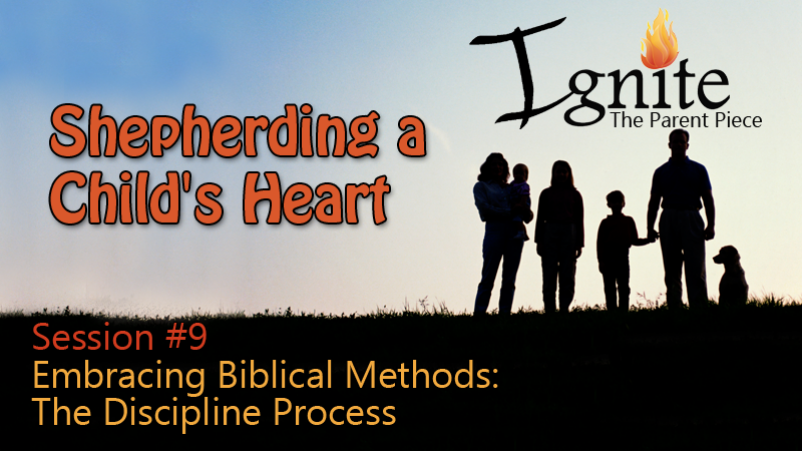 Embracing Biblical Methods: The Discipline Process (11/13/16)