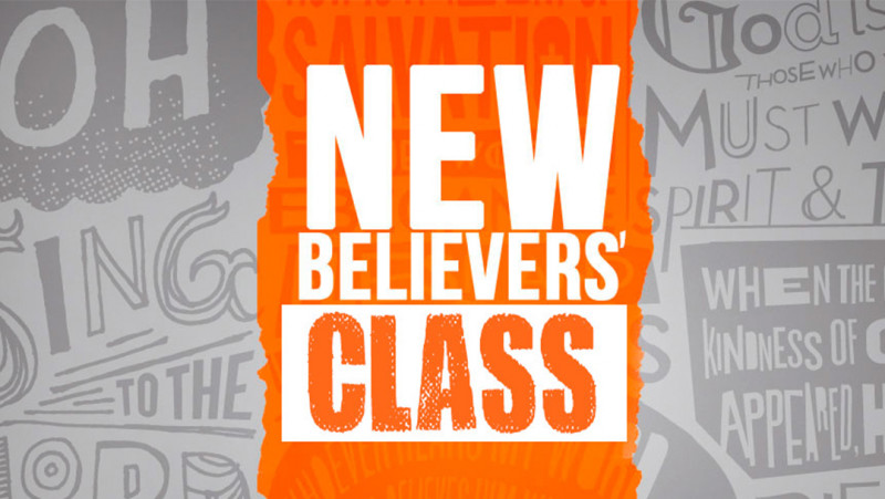 New Believer's Class for Kids