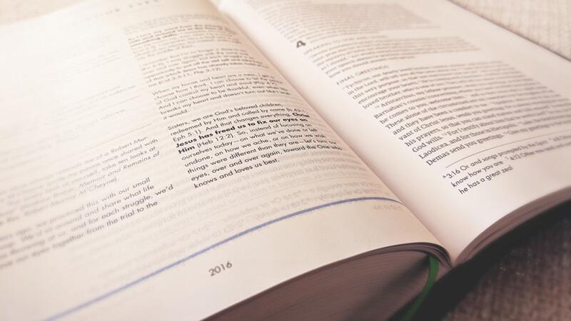 Senior Adult Bible Study