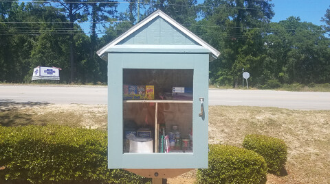 New Blessing Box on OFBC Campus